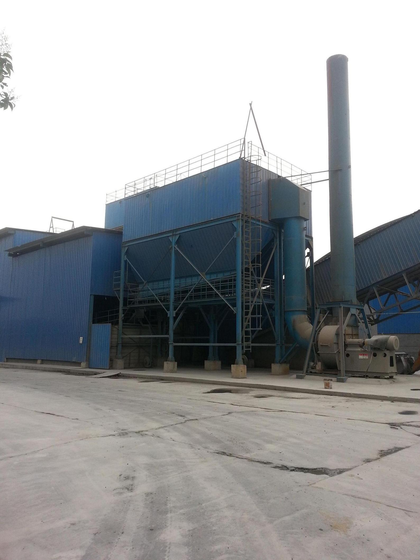 生物质锅炉袋式除尘器是针对轻质粉尘而设计的