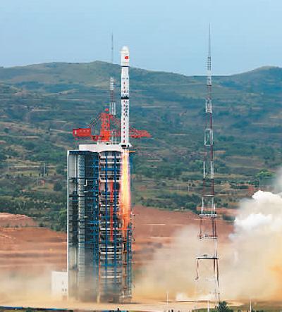 中国成功发射资源一号02D卫星