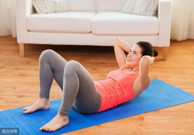 运动减肥肉变松图片