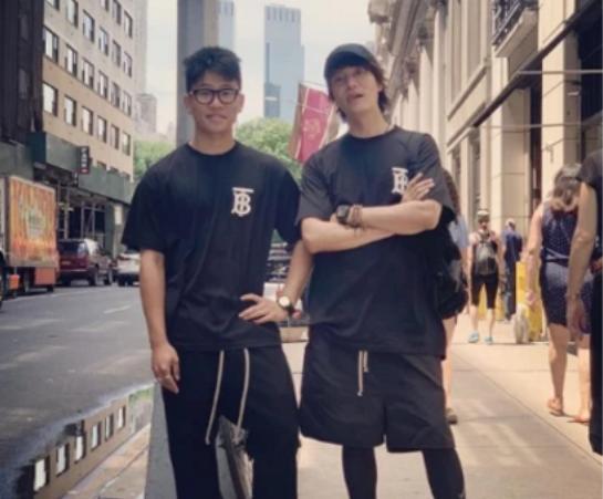 陈坤和17岁儿子合影,孩子的生母终于被网友扒出