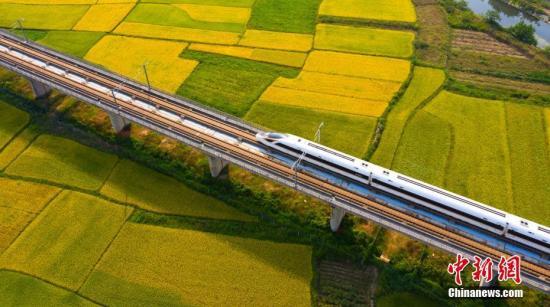 """""""高铁速度""""改写中国经济国土"""