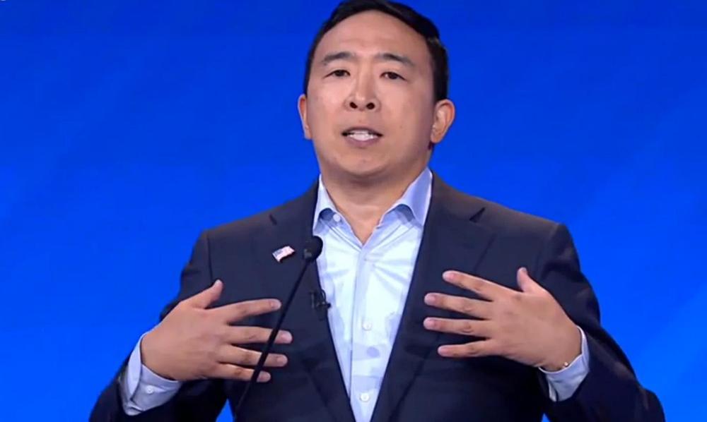 杨安泽发福利:选10个美国家庭,每月发1000美元,为期一年
