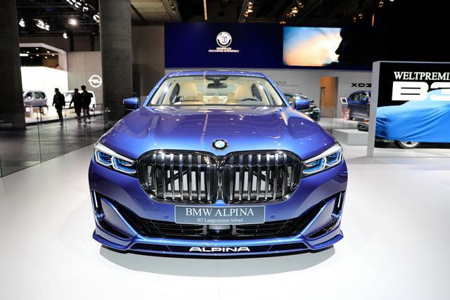 2020款alpina B7亮相法兰克福车展 拥有超跑性能 不失豪华舒适
