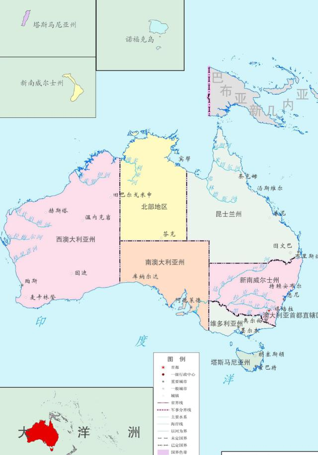 澳大利亚二战人口_澳大利亚人口分布图