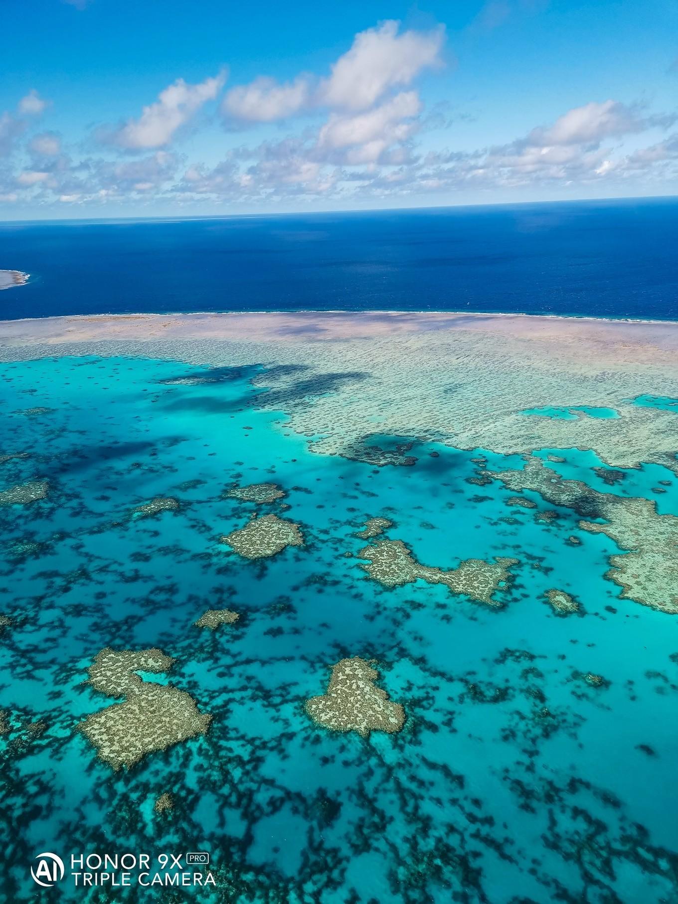 原创              荣耀9X澳洲旅行,不能错过的大堡礁美景