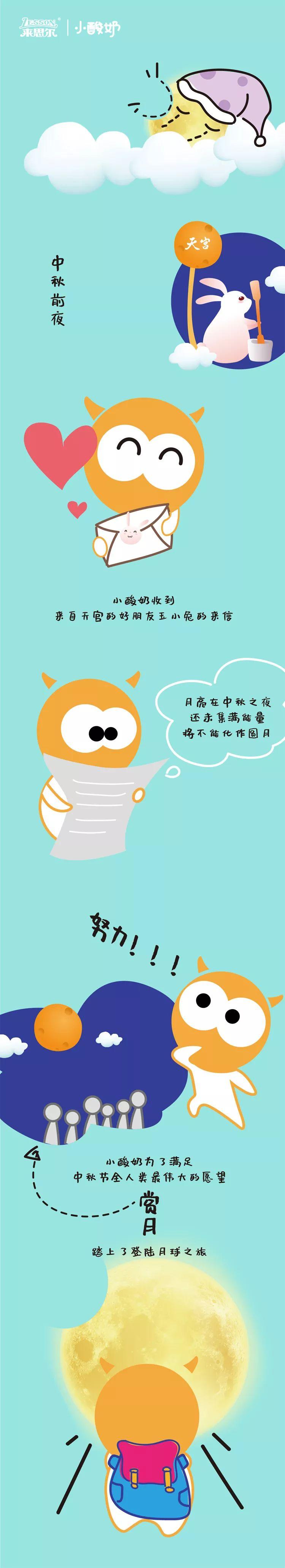 【中秋】小酸奶,大能量,祝大家中秋快乐鸭~
