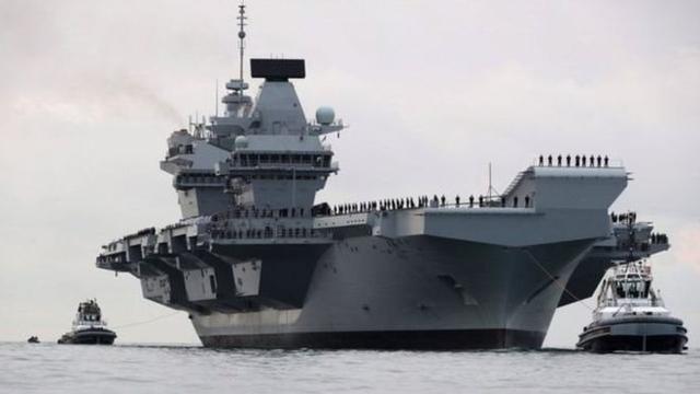 英航母或巡航南海?中国驻英大使警告勿被人当枪使