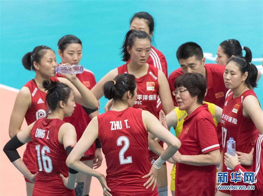 女排世界杯:中国队3-0战胜韩国队