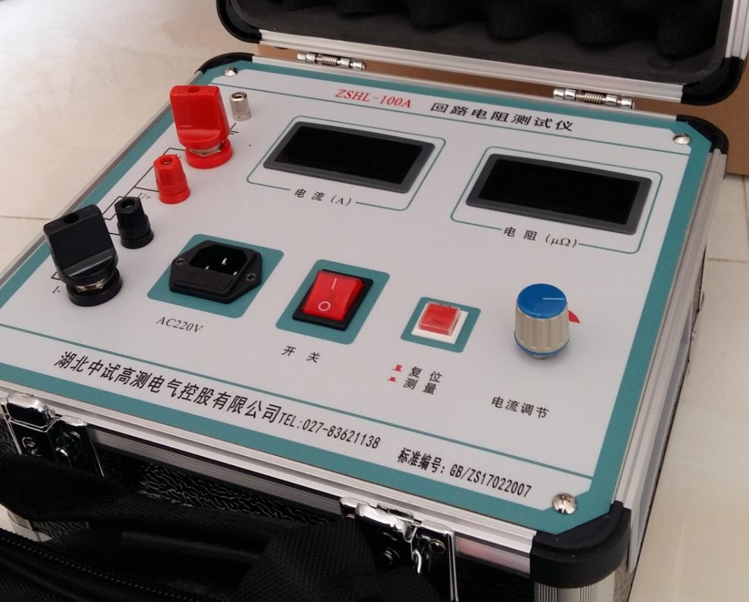直流电阻测试仪可以测接触电阻吗?