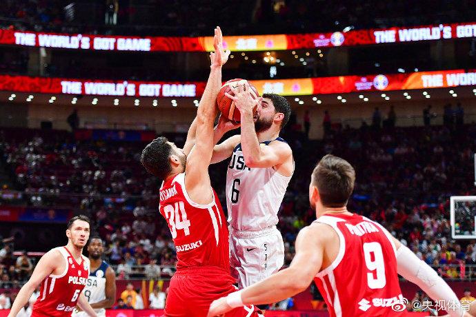 美国男篮胜波兰获第七 历史最差战绩结束世界杯征程