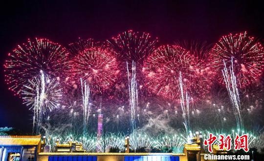"""2019央视中秋晚会:《西游记》师徒四人""""回家"""""""