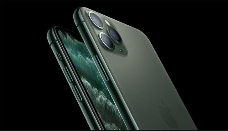 苹果大规模预售iPhone11/Pro/Max,绿色和暗夜绿色一度抢断货