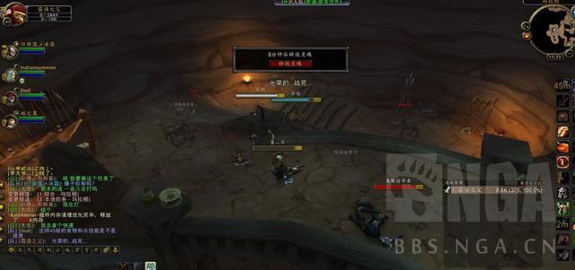 《魔兽怀旧服》独狼战士遭遇部落铁憨憨小队,死前怒斩3人