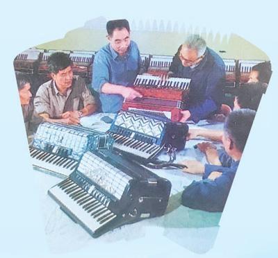 第一台国产手风琴