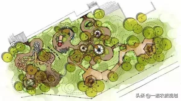 绿乐园平面图