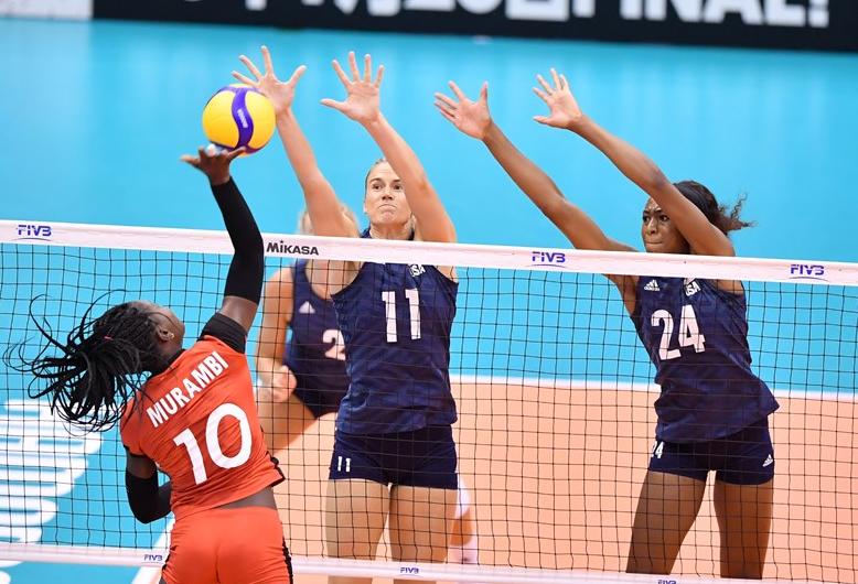女排世界杯揭幕战:仅耗时63分钟,美国队3-0吊打弱旅取开门红!