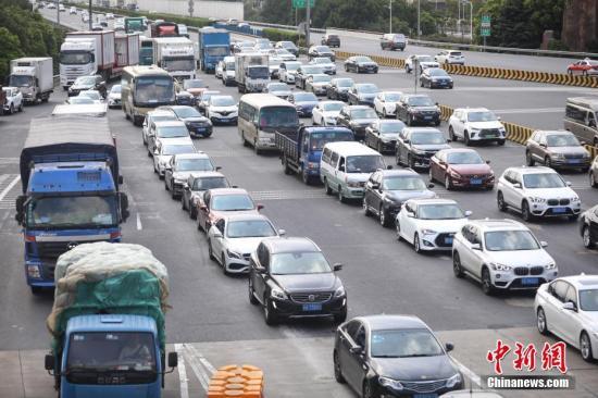 中秋假日交通运输平稳有序道路客运量约1.49亿人次
