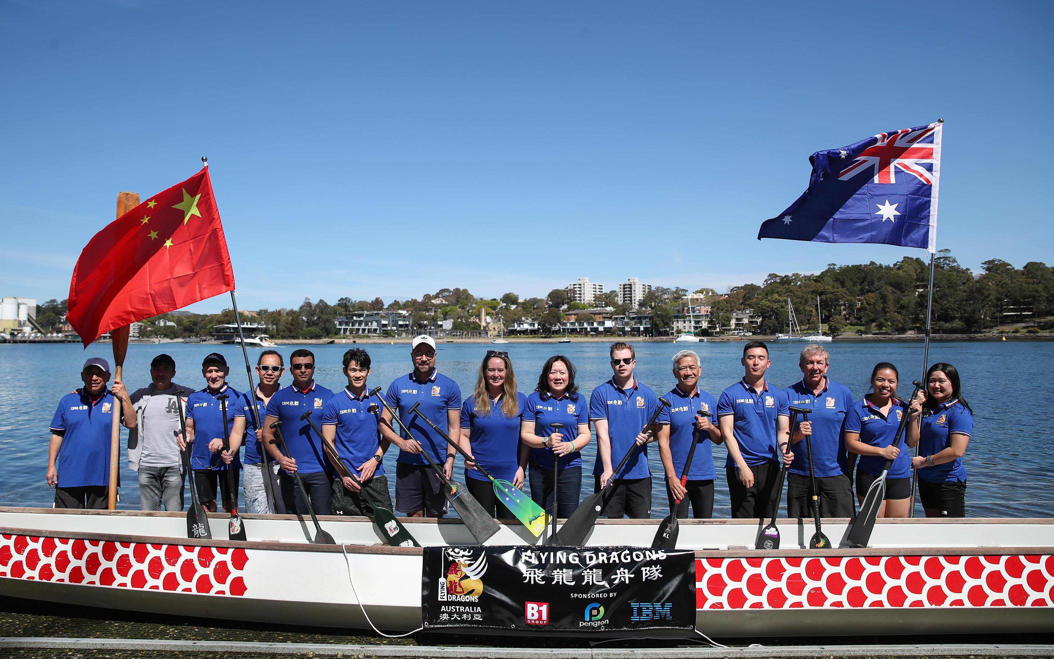 龙舟——澳大利亚龙舟队积极备战世界华人龙舟邀请赛