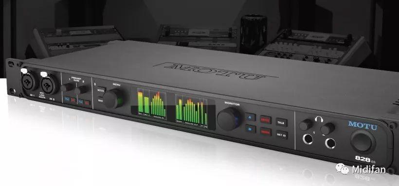 MOTU 深度操作教学视频连载(一)828ES 面板功能详解