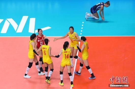 女排世界杯:中国女排3:0喀麦隆迎两连胜
