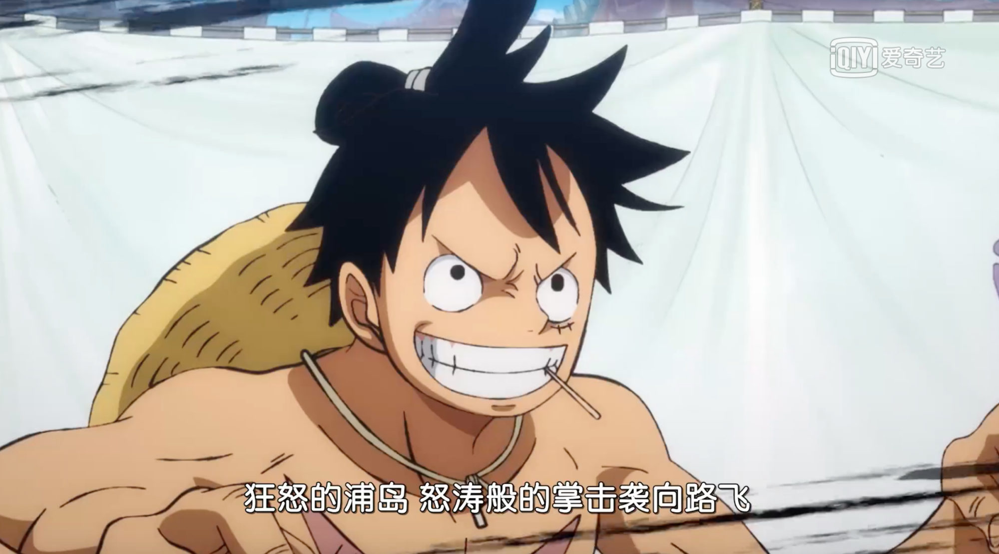 海贼王903集情报:路飞救阿菊,跟浦岛进行相扑对决,一掌秒杀他