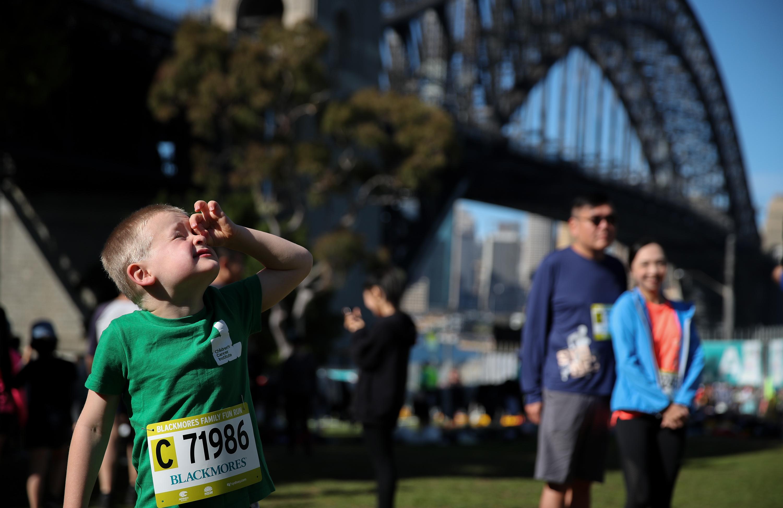 悉尼跑步节举行