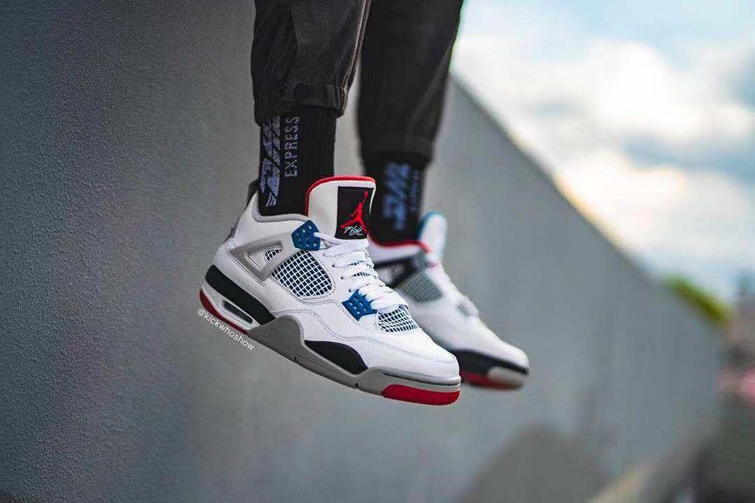 "Air Jordan 4 ""What The""再曝上脚图!你们喜欢吗?"