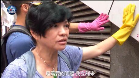 """香港街头的这场""""快闪""""让人忍不住点赞"""