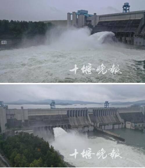 丹江口水库今天开闸泄洪!场面震撼!还有一个紧急提醒
