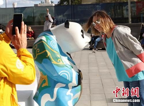 """莫斯科""""中国节""""文化活动吸引大批俄罗斯民众"""