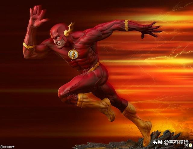 模玩资讯:Sideshow Collectibles 闪电侠 1/4 比例全身雕像