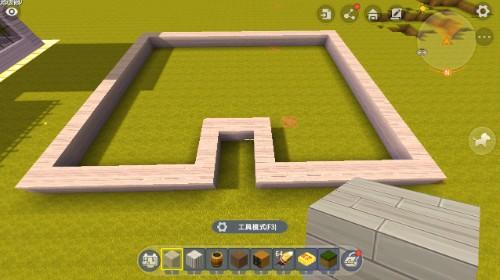 迷你世界:大神亲自建造欧式别墅,外观超气派,萌新3分钟就学会