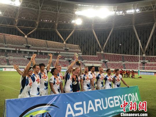中国香港男子队获亚洲七人制橄榄球系列赛冠军
