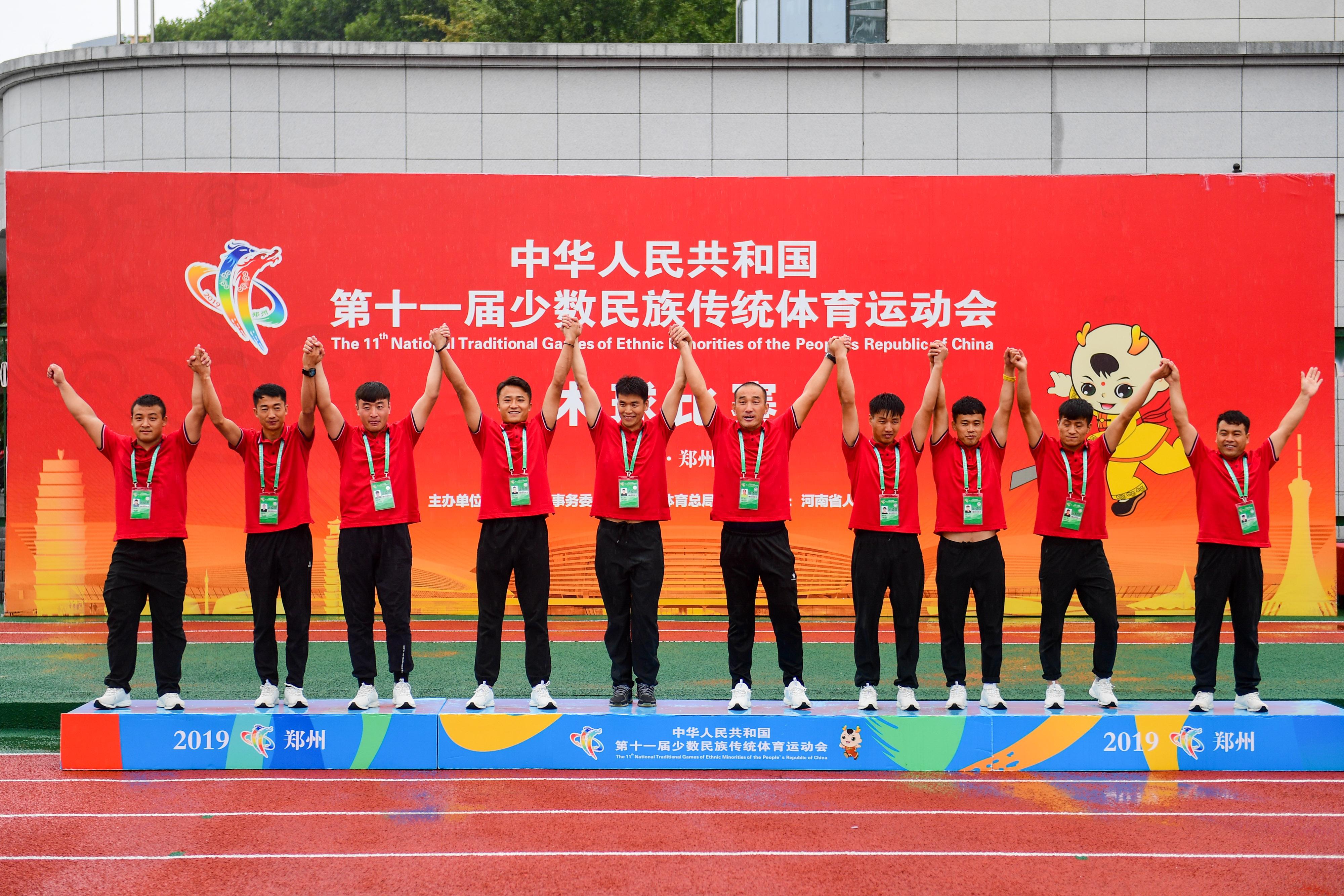 木球——决赛:宁夏队获一等奖