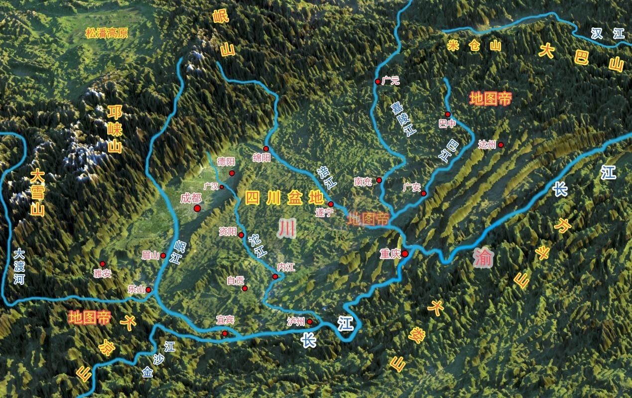 刘备为何让魏延守汉中,却让张飞守阆中? 评史论今 第5张