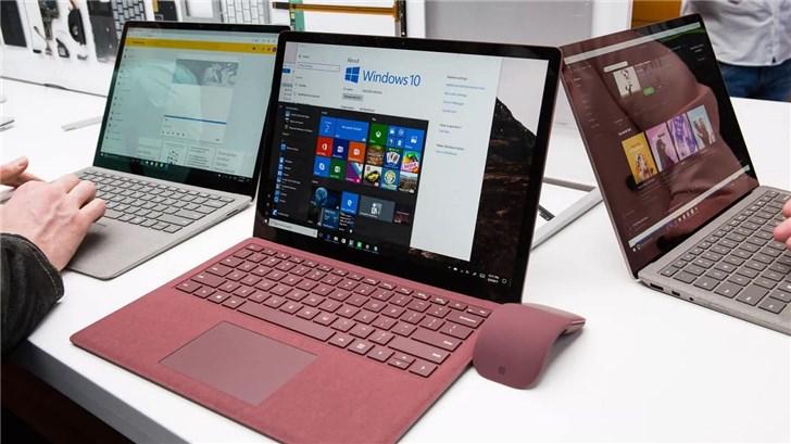 微软SurfaceLaptop3锐龙版曝光:搭载AMDRyzen