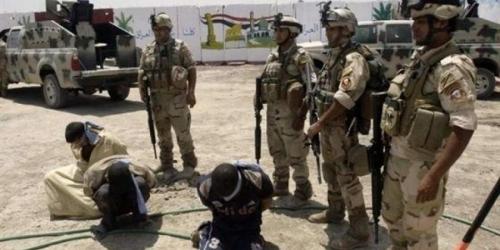 四名极端组织成员在摩苏尔被抓获