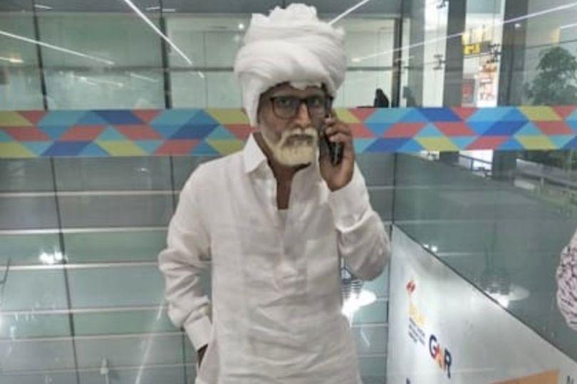 印度32岁男子乔装成81岁老人在机场被拘留