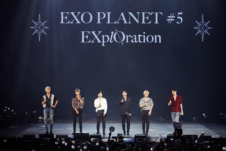 """""""公演终结者""""EXO新加坡演唱会盛况空前"""