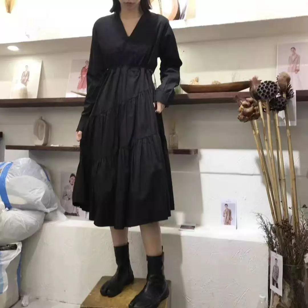 折纸长袖衬衫日本风格服饰
