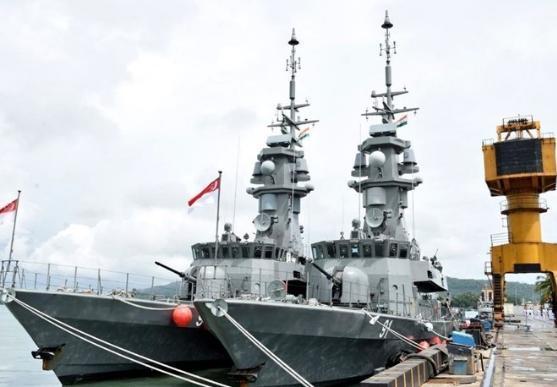 新加坡和泰国海军将联合印军展开联合演习,内容是封锁巴铁海运?