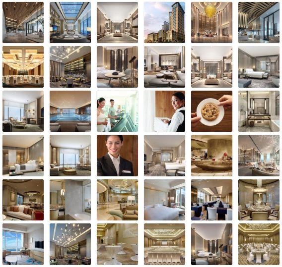 【ccd】上海正元希尔顿逸林酒店 v酒店方案ppt+效果图+cad施工图厦门hba设计公司图片