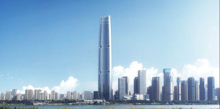 """中部第一高,超级垂直综合体成就大武汉""""军运会""""名片!"""