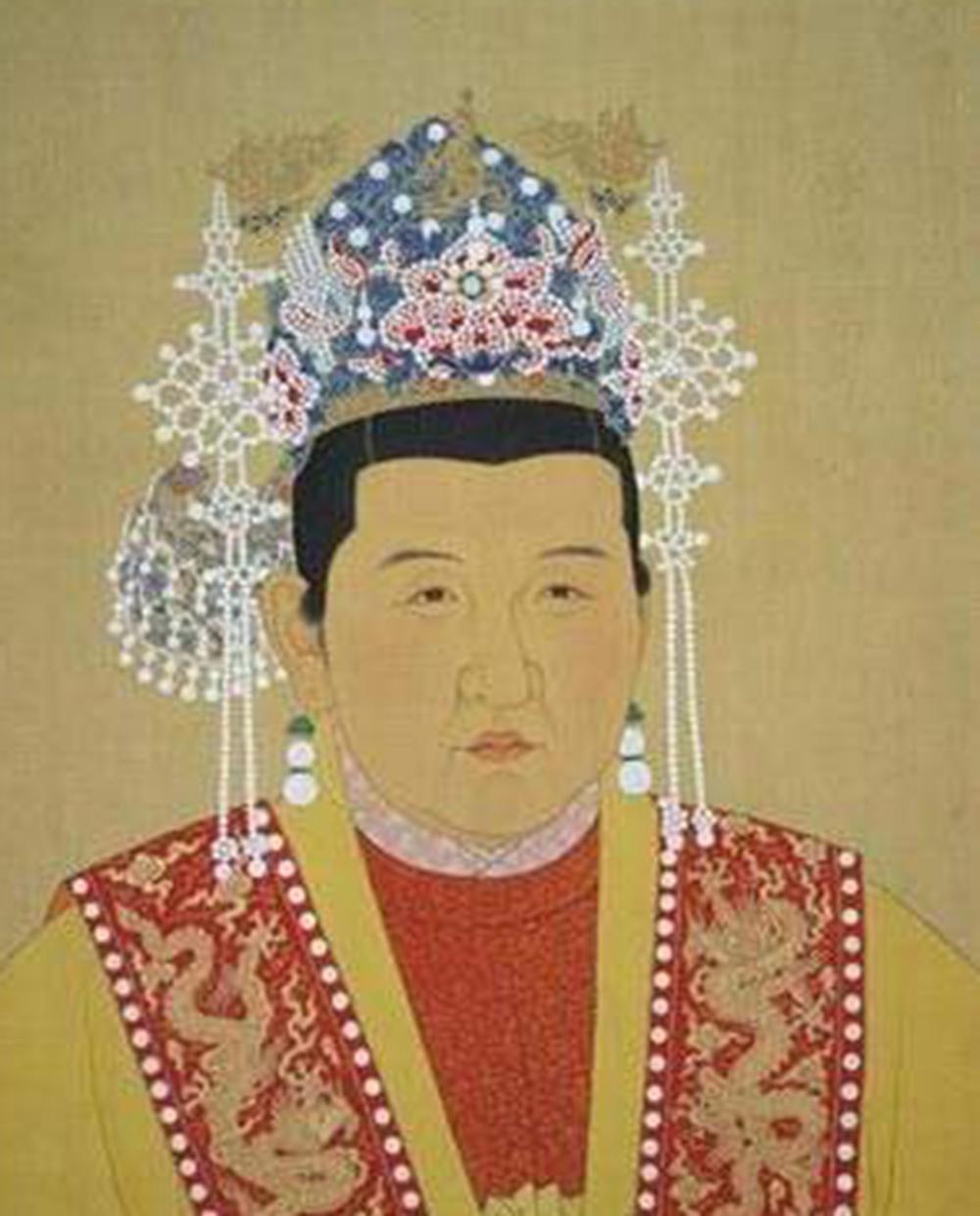 手绘古装皇后贵妃图片
