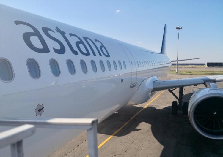 哈萨克斯坦载128人飞北京空客发动机故障返航!刚起飞就响警报