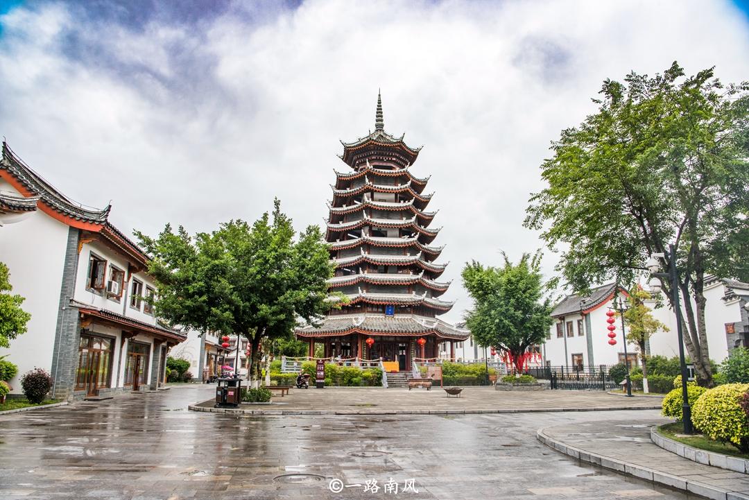 原创             广西这座古城贵为4A景区,不收门票,却游客稀少!