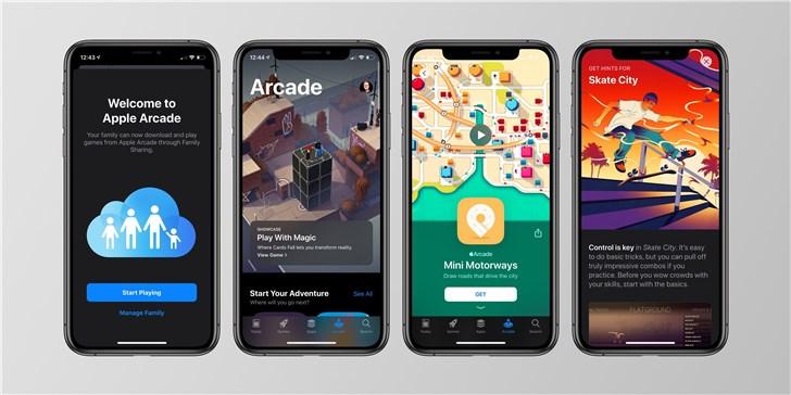 爽了!部分苹果iOS13用户提前开启Arcade游戏服务