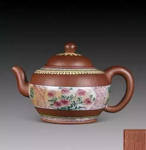 中国风古茶壶,实在是太美了不好电视墙纸看怎么办图片