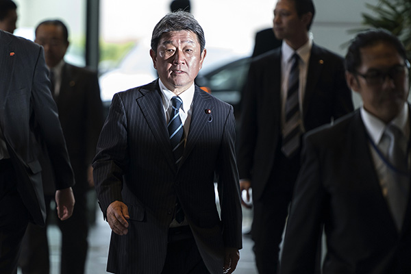 日本新外相与蓬佩奥首次通话,确认在对朝鲜外交上紧密合作