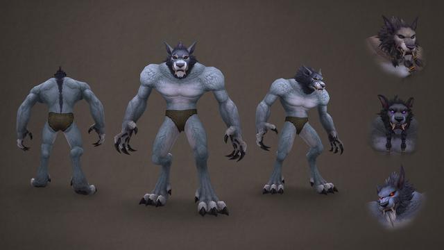 帅了!《魔兽世界》将更新地精、狼人的外观及动画
